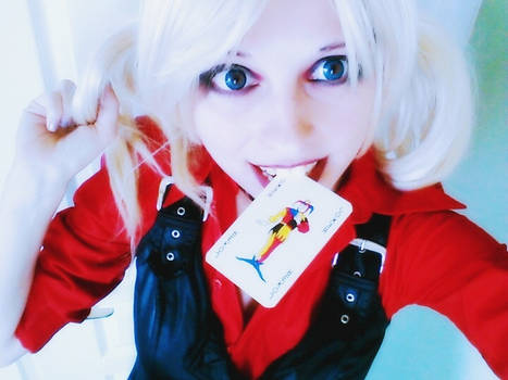 Harley Quinn - Arkham City Game - Makeup Test