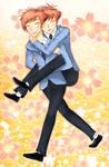 Hikaru and Kaoru Hitachiin by PixieSocks