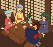 NnK: Kyoto in Kimonos [unf] by PixieSocks