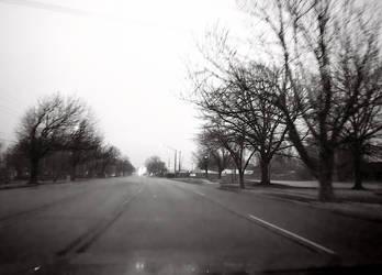 Rainy Street #0501 1/16/19 by KeithPurtell