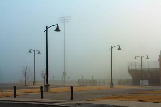 Light Poles in Fog #1479 12/22/19