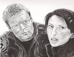 Daniel and Vala Stargate SG-1