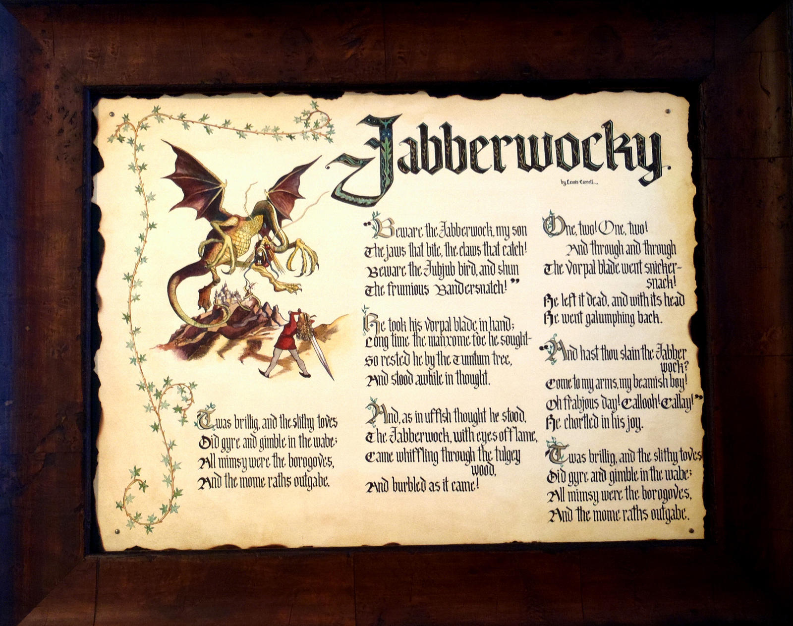 Jabberwocky by GuardtheDoors on DeviantArt