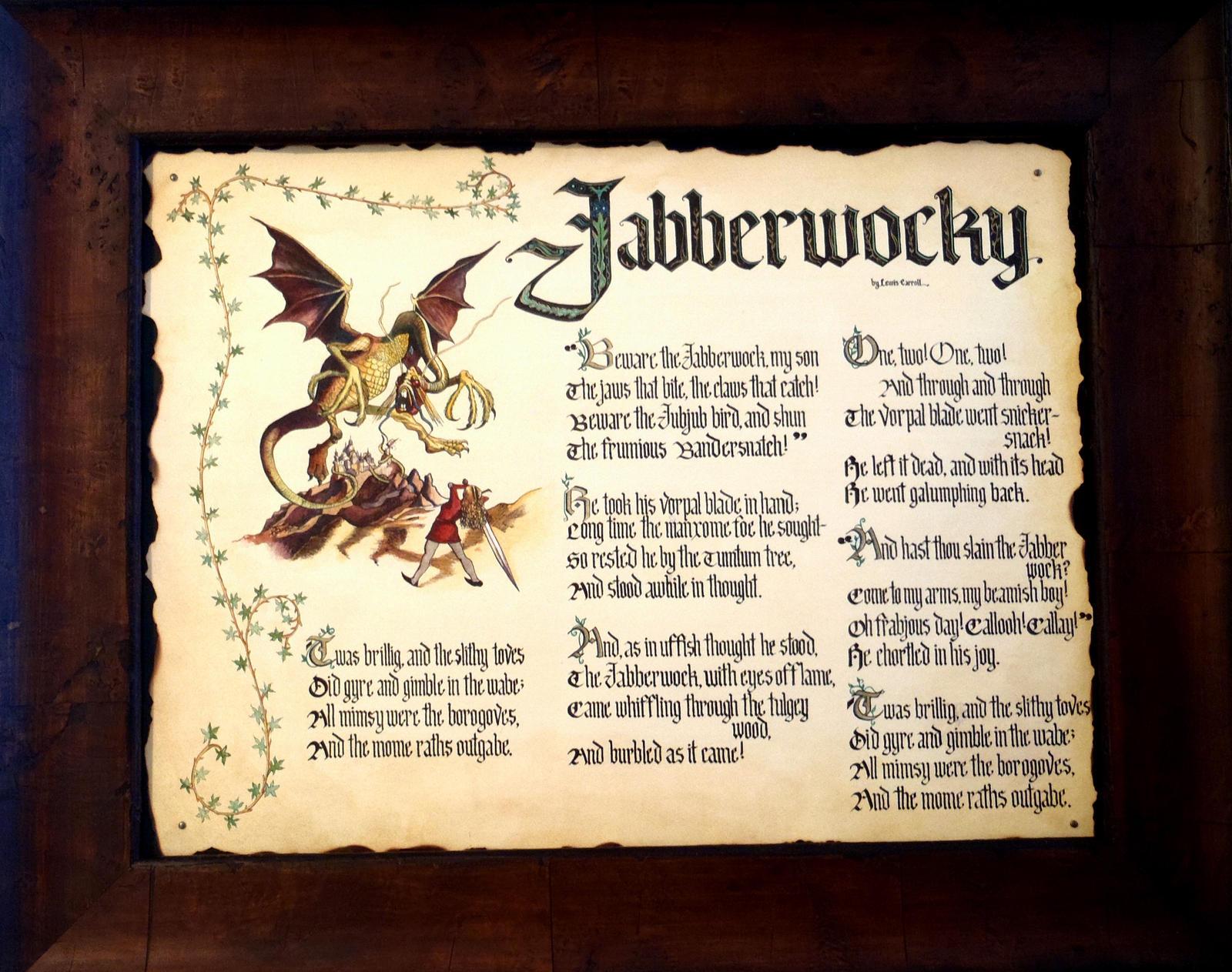 Jabberwocky by GuardtheDoors on DeviantArt