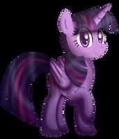 Twilight Sparkle (Princess of Friendship) by KimmyArtMLP