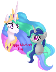 Happy Mother's Day (2019) by KimmyArtMLP