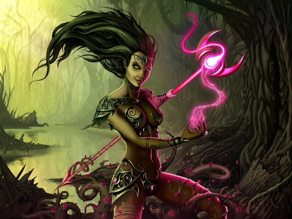 Swamp Witch by IgorIvArt