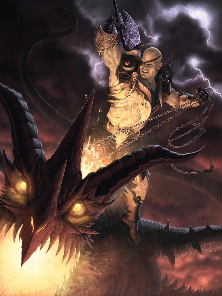 Dragon Slayer by IgorIvArt