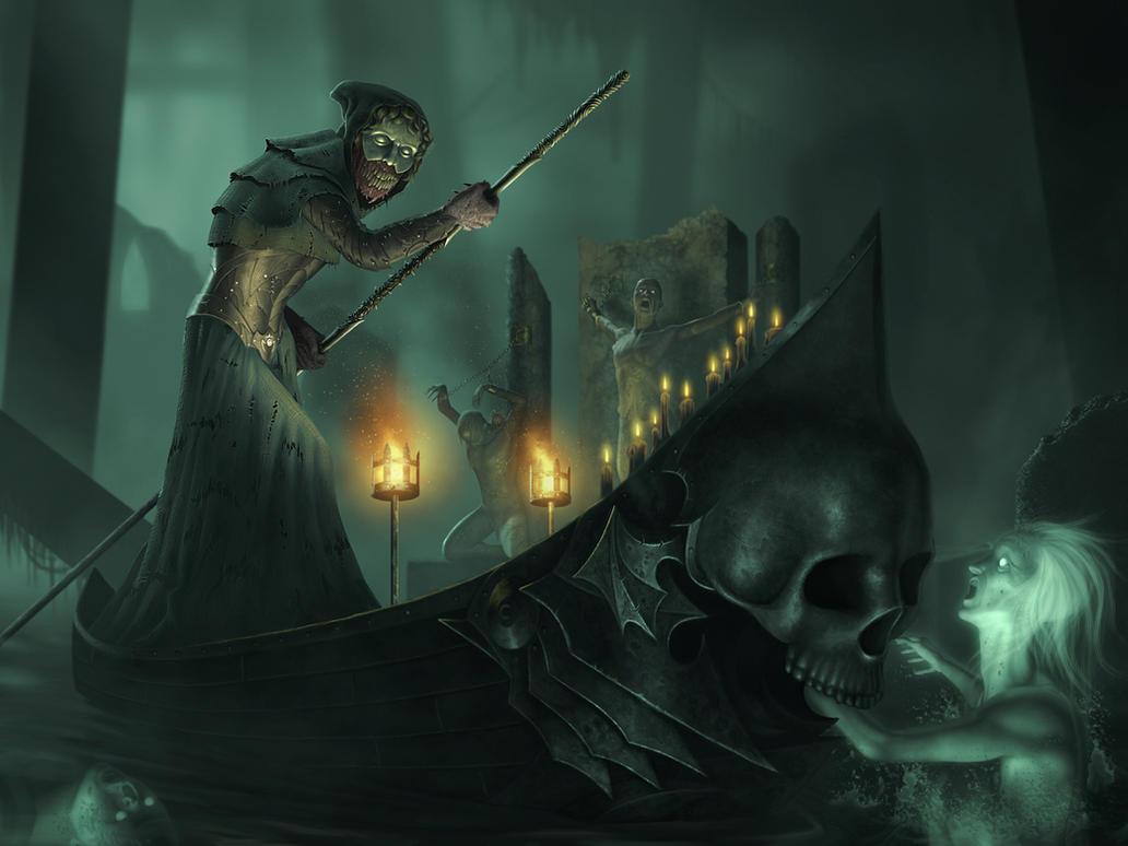 The River Styx by IgorIvArt