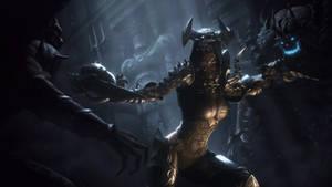 Diablo III Reaper of Souls - Demon Hunter by IgorIvArt