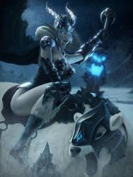 Queen Of The Polar Desert by IgorIvArt