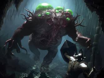 Parasite Infected Giant by IgorIvArt