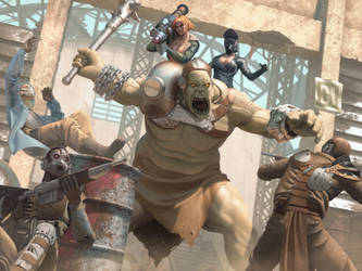 Giant mutant control by IgorIvArt