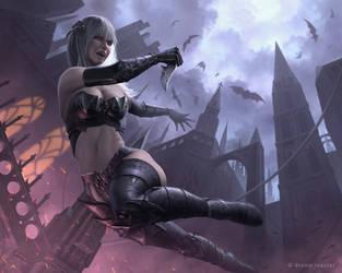 Legendary Vampire Assassin by IgorIvArt