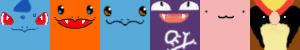 Pokemon Icons by hawkfangor
