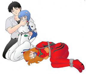 Asuka Y Rei 5  by axelpablo