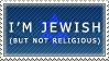 Cultural Jew Stamp