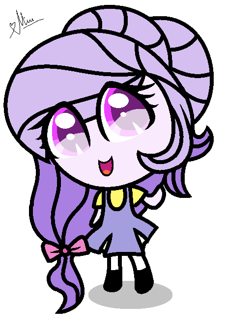 Lovely Angel Star Chibi by StarDarkMLP