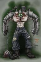 FISTY the cyborg menace by plushman