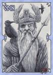 Cards of the Gods ODIN