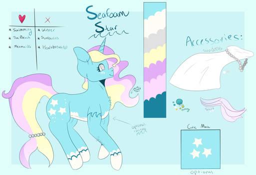 Seafoam Star [Custom Comm]