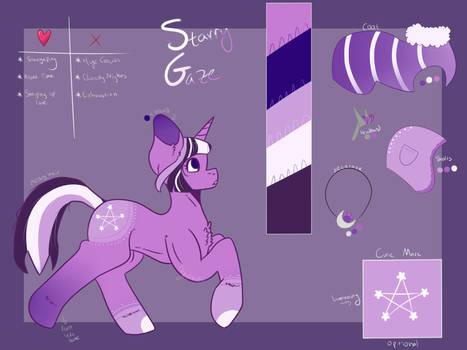 Starry Gaze [Custom Comm]