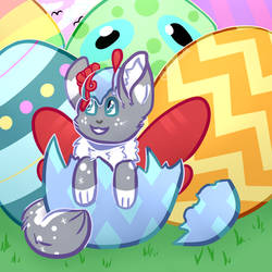 Easter Egg... It's Lumi! [YCH Comm]