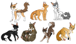 Warrior Cats Point Adoptables {CLOSE} {READ DESC}