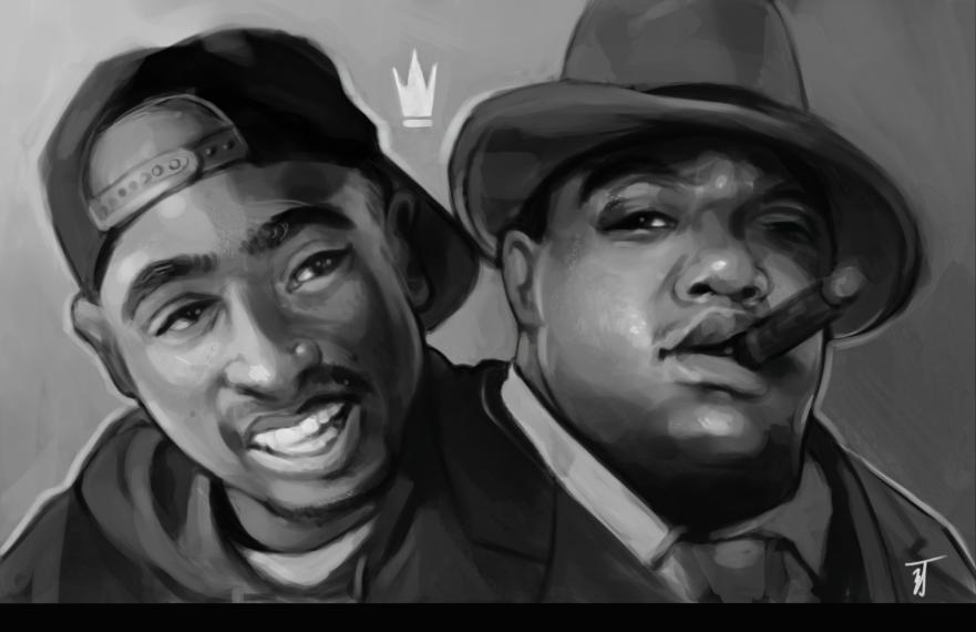 Biggie And Tupac Quotes Quotesgram