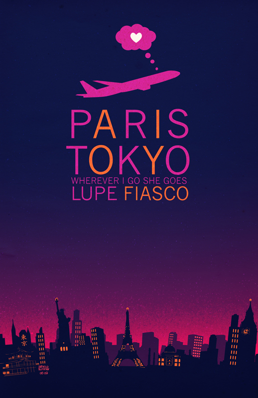 Paris Tokyo - Lupe Fiasco by ArchaicEphony