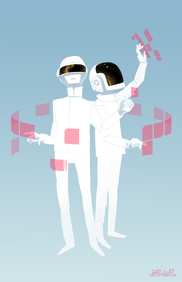 Daft Punk by ArchaicEphony