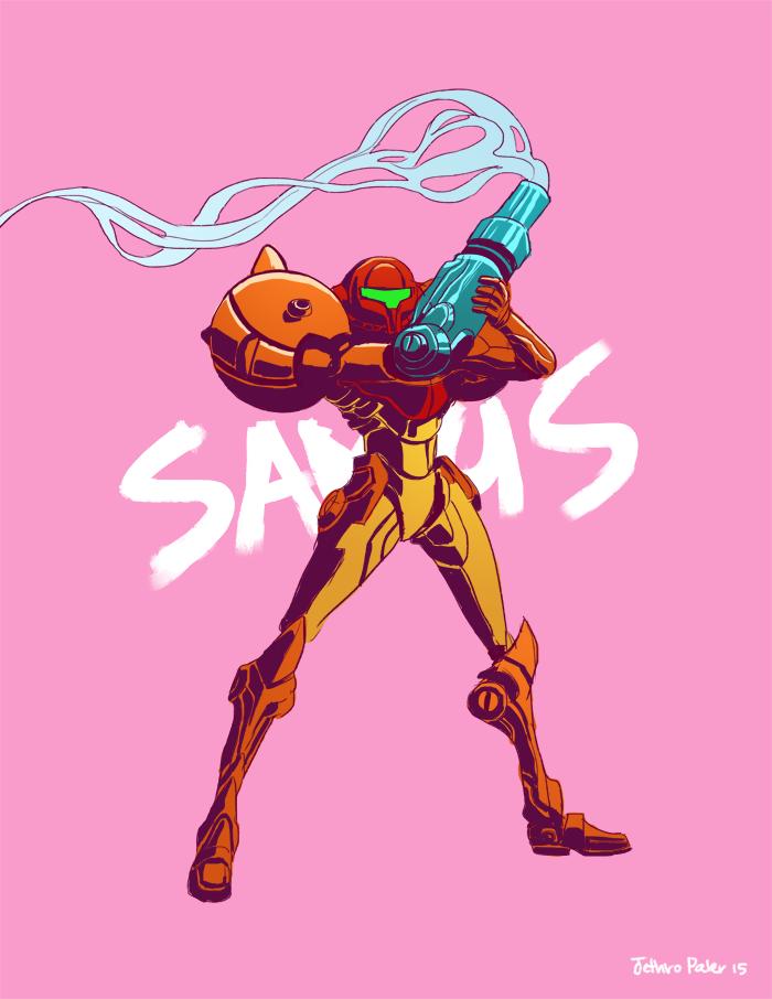 Samus by ArchaicEphony