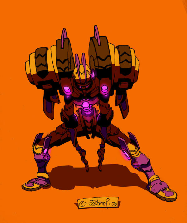 Mech thing by ArchaicEphony