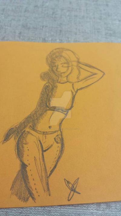 Sticky Note Art by ImmortalNighttime