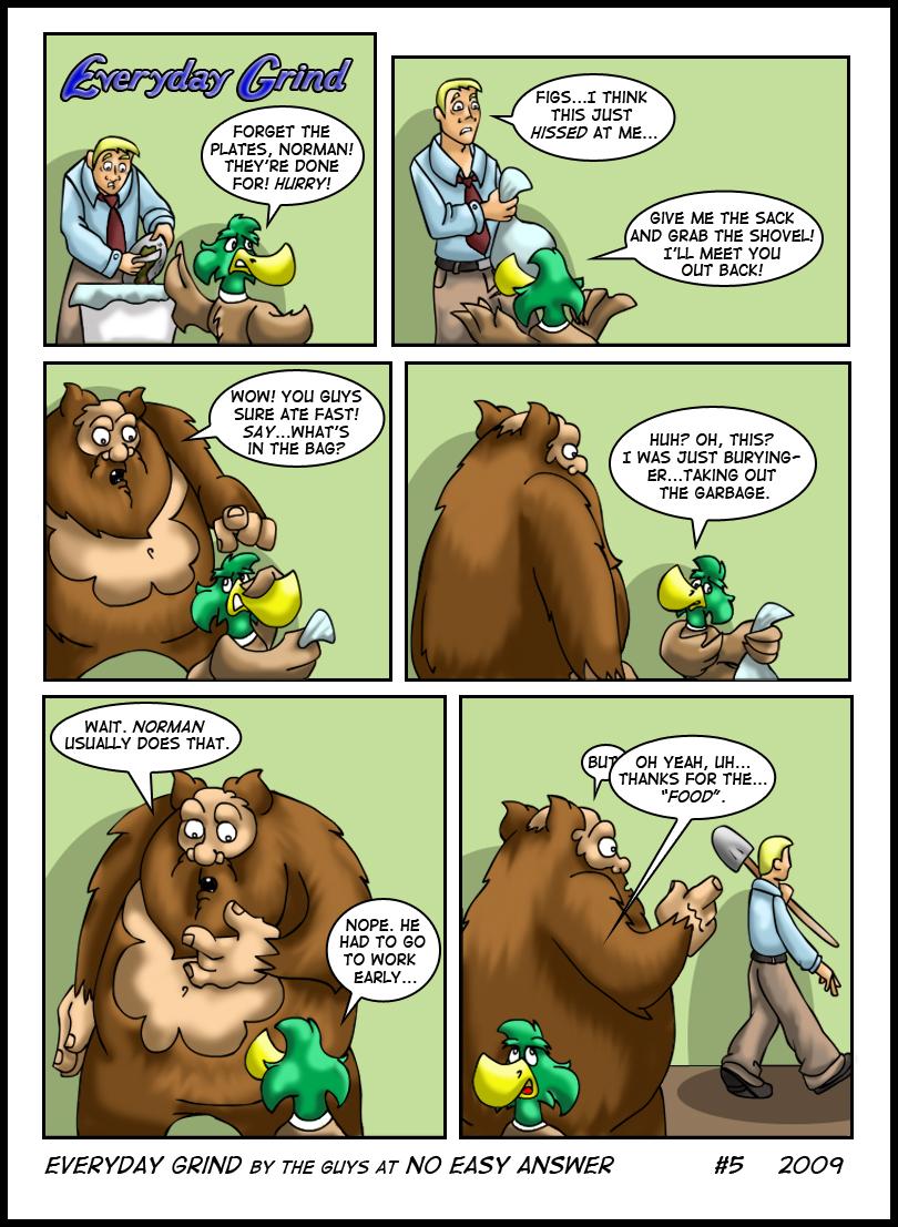 Everyday Grind Comic 5
