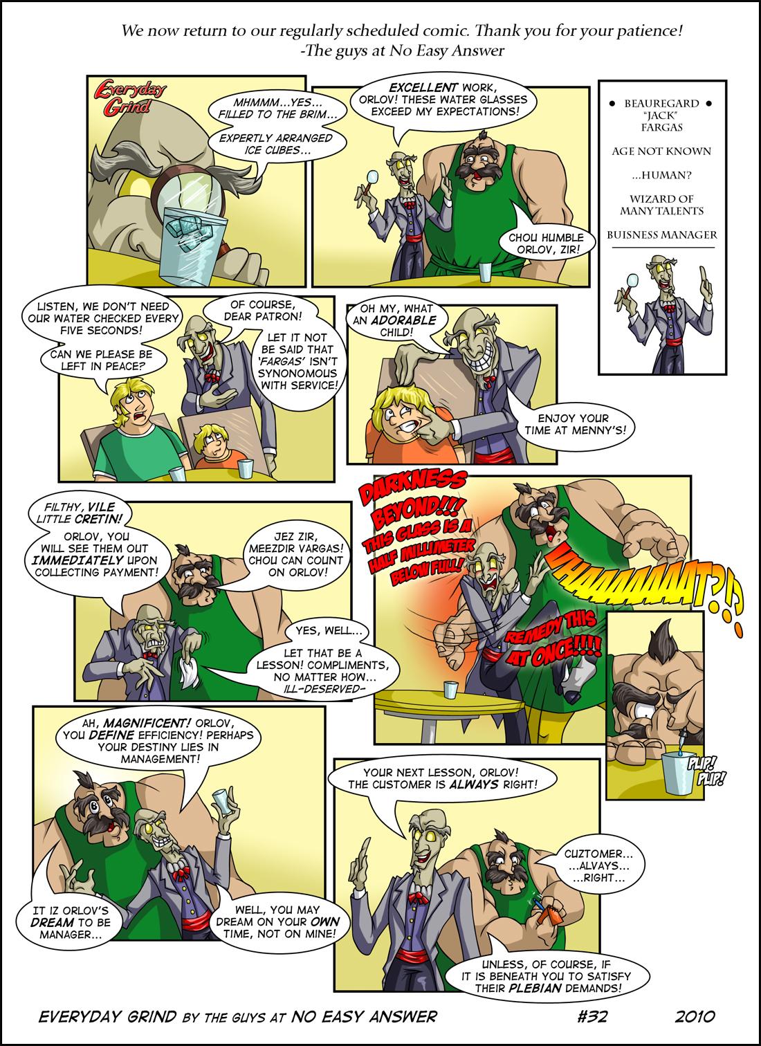 Everyday Grind Comic 32