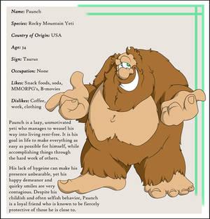 Character Bio: Paunch