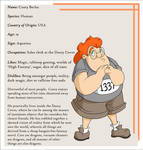 Character Bio: Casey