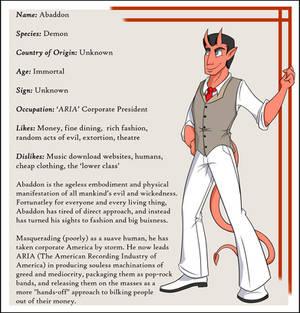 Character Bio: Abaddon