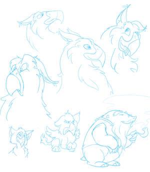 Sketch Dump: Loreables