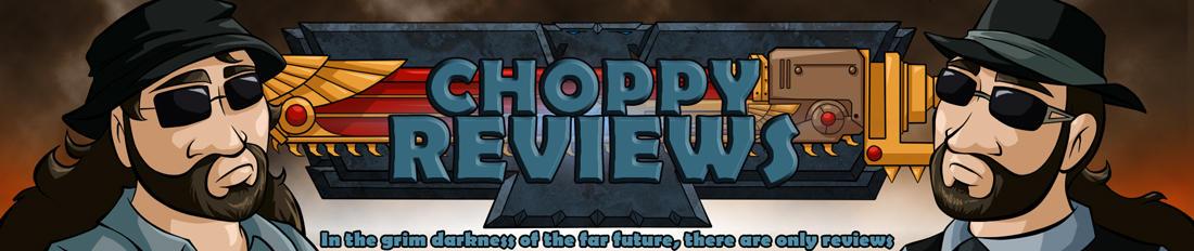 Choppy Reveiws: Website Header