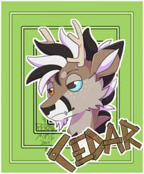 Cedar Headshot/Badge