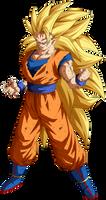 Goku Super Saiyajin 3 By Arbiter720 De8gacu-fullvi