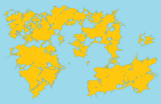 Hazeland map (one)