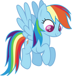 Dashie Looking Down.