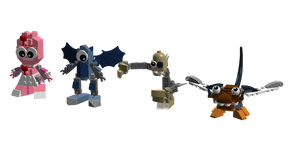 LDD Mxls: LEGO-fied OCs 3