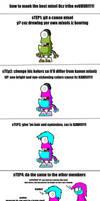 how to maek the bezt mixelz oc tribe evur!!!1!
