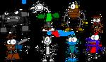 Mxls: Random Mixels Designs (700th Deviation!)