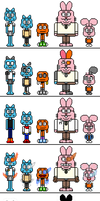 TAWoG: The Wattersons sprite sets