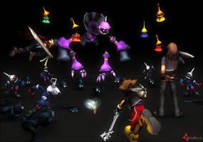 Kingdom Hearts: Traverse Town by Kidel